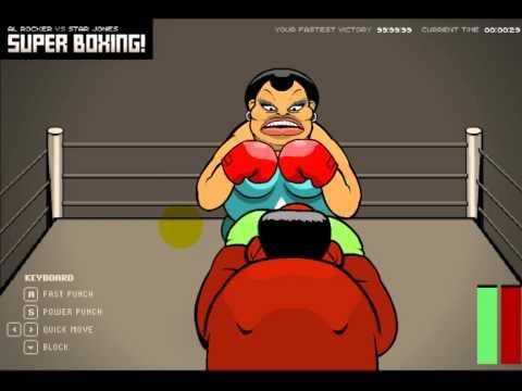 игра флэш бокс