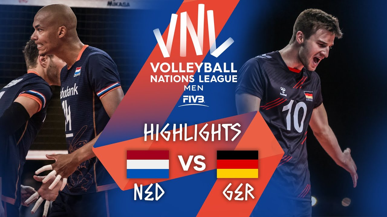 Download NED vs. GER - Highlights Week 2   Men's VNL 2021