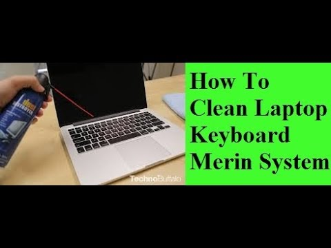 How to clean laptop keyboard ( HP / Dell / Lenovo | Acer | Sony )