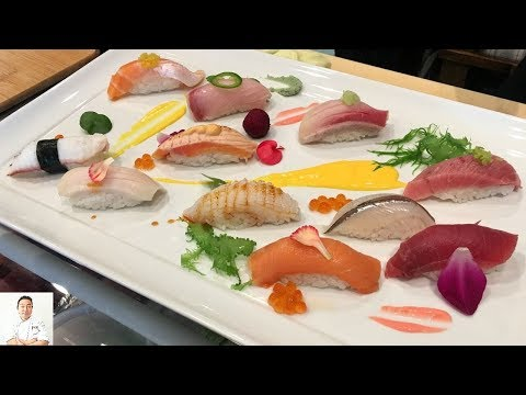Creating The Sushi Platter | Chef Series