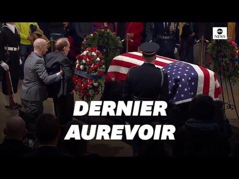 Aux obsèques de George Bush, l