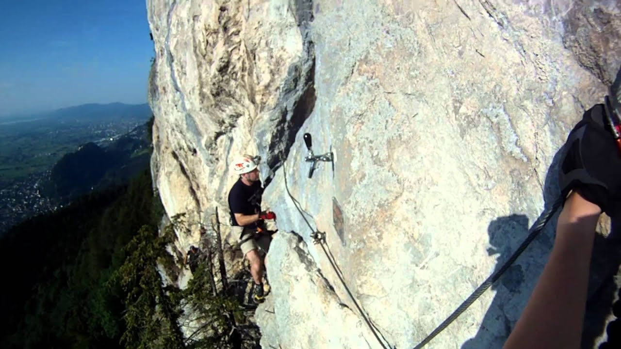 Via Kessi Klettersteig : Via kessi klettersteig youtube