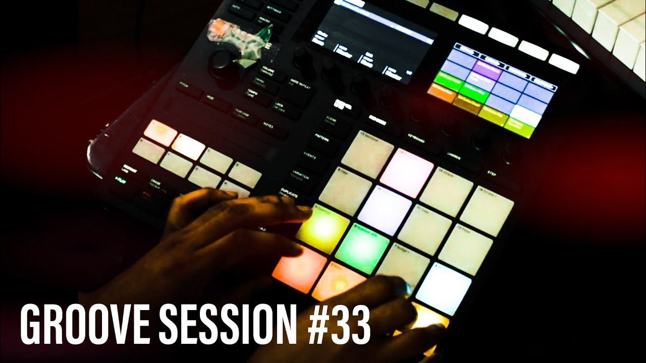Groove Session #33 | Dom Root Music on Maschine MkIII