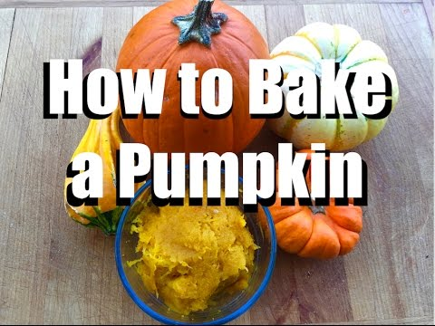 How to Bake a Pumpkin and Make Homemade Pumpkin Puree - the Easiest Way Ever