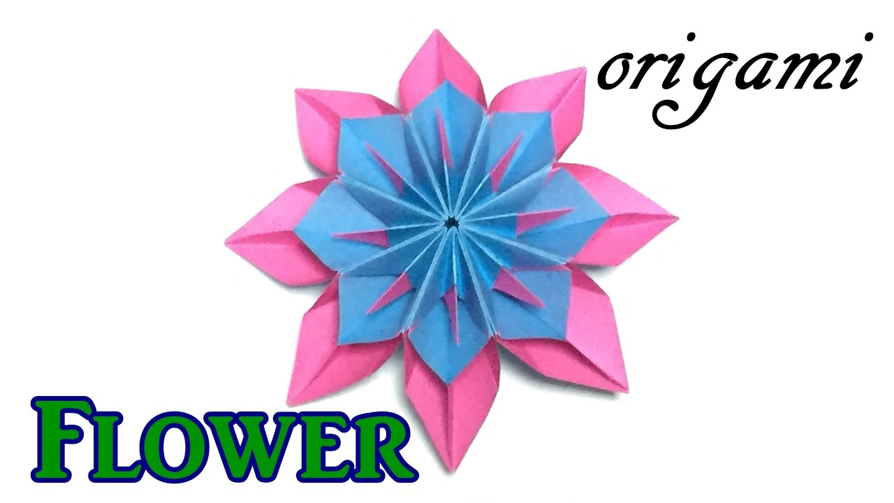 Amazing paper flower origami modular flower tutorial easy but amazing paper flower origami modular flower tutorial easy but cool for beginners dhlflorist Choice Image
