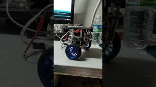 DC모터 밸런싱 로봇  yaw축제어, 위치제어