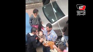 شهود يروون تفاصيل مصرع طفلين ومنقذ في واقعة «ترام محرم بك»