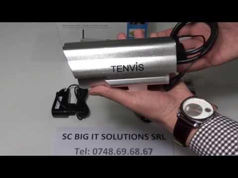 Camera IP wireless exterior Tenvis IP602W - www.bigit.ro