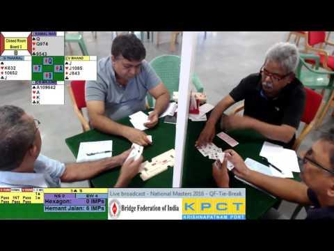 Krisnapatnam Port National Masters Bridge Championships 2016