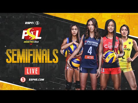 LIVE: Semifinals Game 2: Petron Blaze Spikers vs. Cignal HD Spikers | PSL Grand Prix 2019
