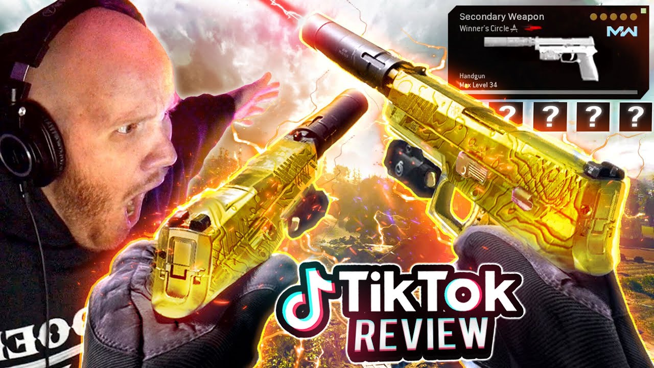 TRYING THE FASTEST TTK SECONDARY FROM TIKTOK!!
