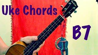 b7 ukulele chords