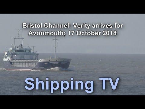 Verity arrives Avonmouth,18 October 2018