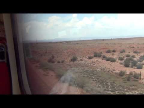 New Mexico RailRunner: Santa Fe to Albuquerque [FULL RIDE]