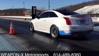 WXM  Cadillac ATS V is the first to break into the 10s with a couple bolt ons!