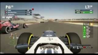 F1 2012 Online League Race PC - PRL - Round 4 - Bahrain - No Assists - PART 2