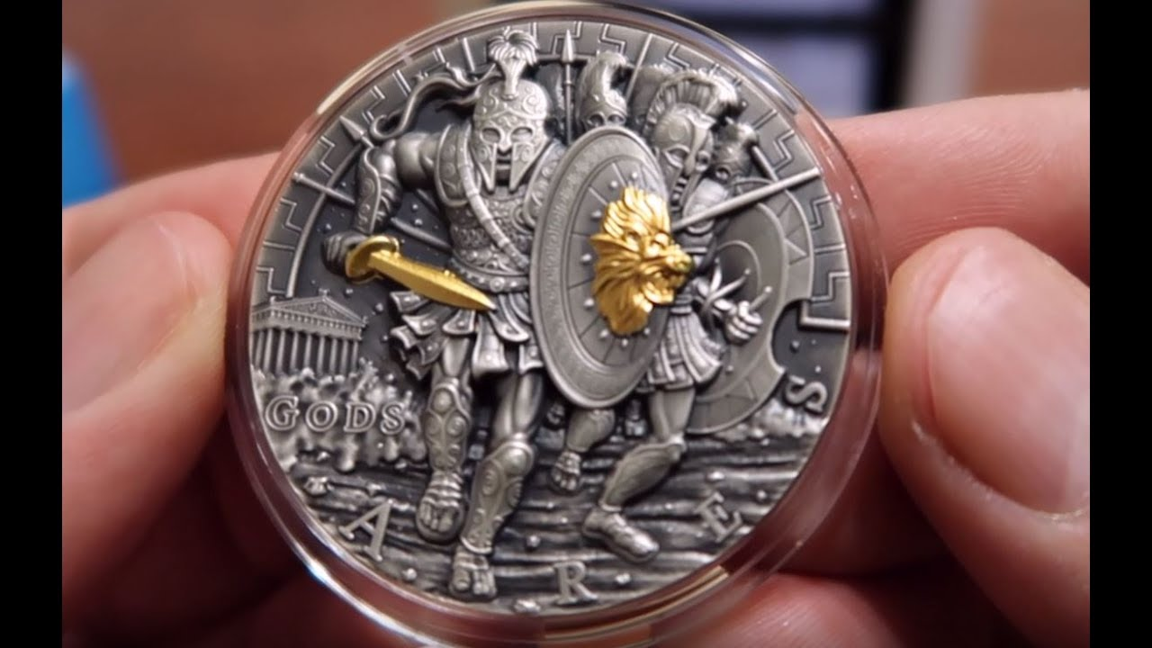 Best Looking Coin I Have Ever Seen Ares God Of War 2oz