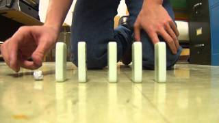 newton's 2nd law oḟ motion demonstration