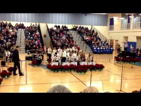 "Minooka Junior High School Jazz Band Winter Concert 2013 ""Playing with Fire"""