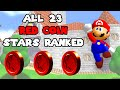 Gambar cover Ranking All 23 Red Coin Stars In Super Mario 64!