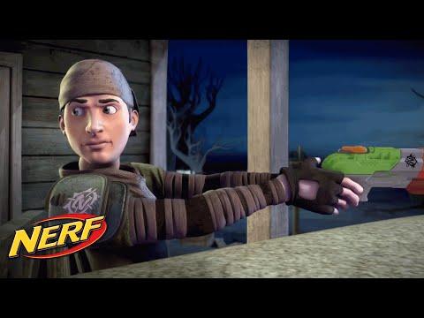 NERF - Zombie Strike Stories: Gas 'n' Glo (Episode 11)