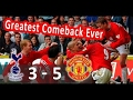 Tottenham vs Manchester United 3-5 (29-09-2001) - (Classic) Highlights & All Goals