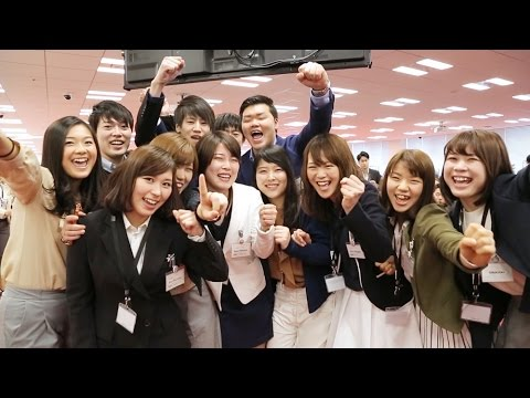 "[RNN] Welcome Ceremony New Graduates Join the ""One Team"" of Rakuten"