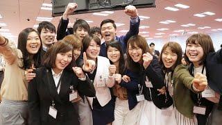 "[RNN] Welcome Ceremony New Graduates Join the ""One Team"" of Rakuten"