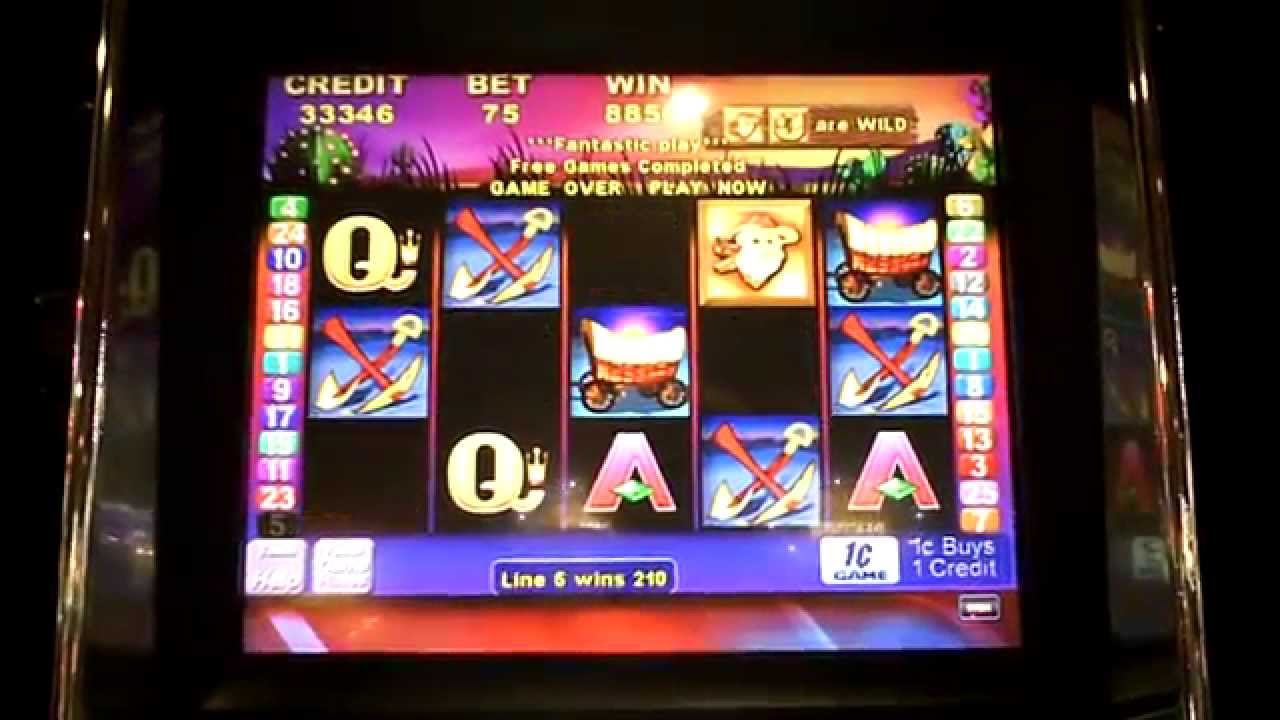 wheres the gold slot machine