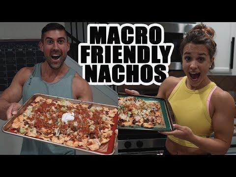 Macro Friendly Nacho Recipe Low Carb, Low Fat, High Protein, Bodybuilding Nachos!