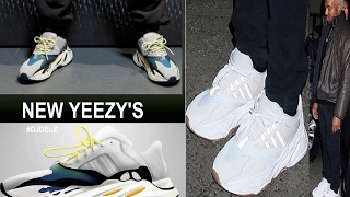 Kanye West adidas Yeezy Runner 2017 Shoes FIRST LOOK #YEEZYRUNNER