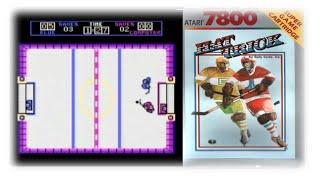Hattrick (Atari 7800/1987) - Der schnellste Mannschaftssport - NICHT!