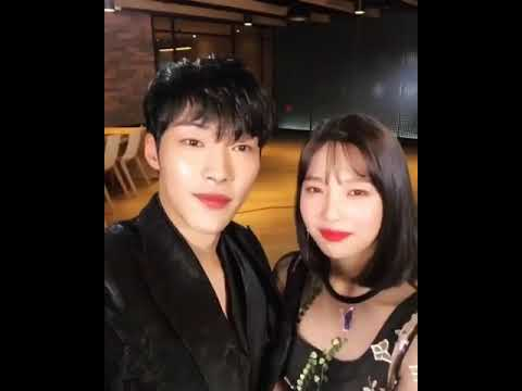 180308 WooDoHwan & Joy RedVelvet at the premiere Press Conference New Drama
