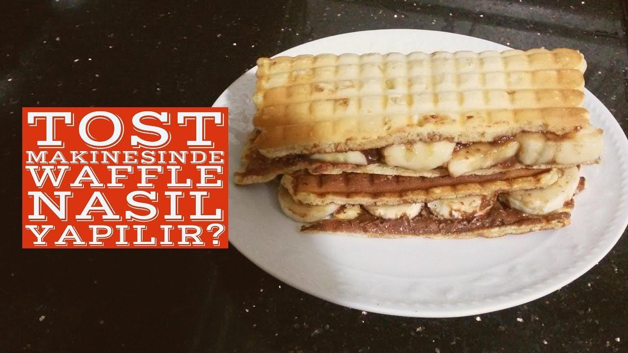 Evde Waffle Tavada Nasıl Yapılır Videosu