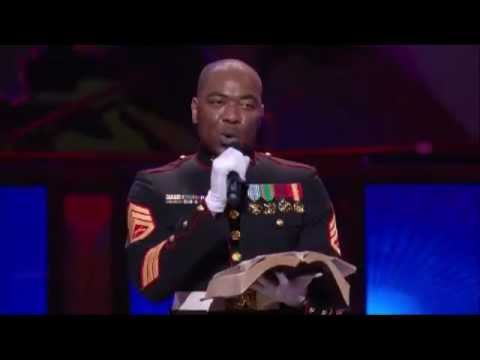 Lakewood Church Worship - 11/11/12 - Veteran's Day Scripture Reading / My Country / Cornerstone