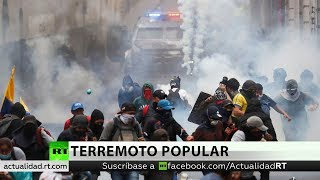 Amnistía Internacional señala a la Policía ecuatoriana por hacer un excesivo uso de la fuerza