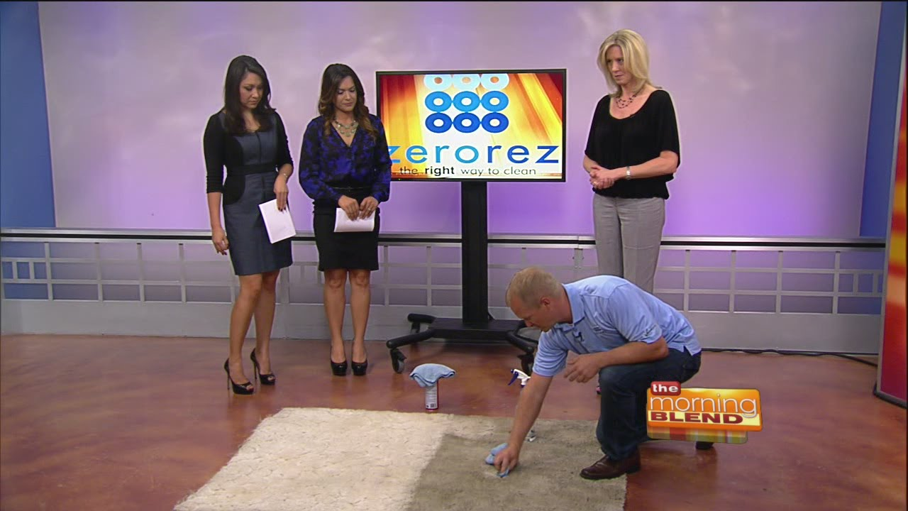 Zerorez The Carpet Cleaning Power Of Empowered Water