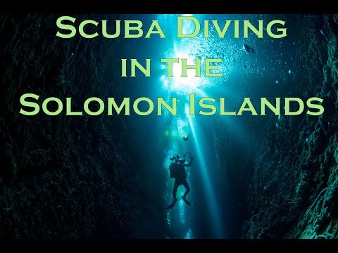 Ocean First Scuba Diving in the Solomon Islands