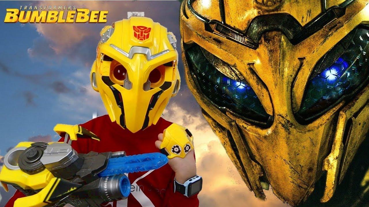 Шлем ВИРТУАЛЬНОЙ реальности Бамблби ???? из фильма Трансформеры 6 Bee Vision Mask BumbleBee