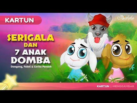 Serigala dan Tujuh Anak Domba - Kartun Anak Cerita2 Dongeng Anak Bahasa Indonesia - Cerita Anak Anak