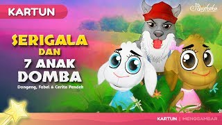 Download Video Serigala dan Tujuh Anak Domba - Kartun Anak Cerita2 Dongeng Anak Bahasa Indonesia - Cerita Anak Anak MP3 3GP MP4