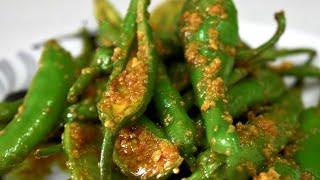 मार्किट जैसा हरी मिर्चका इंटन्स्ट अचार-एकबार बनाये महीनो तक खाये स्वादिस्ट हरी मिर्ची का अचार-Chili