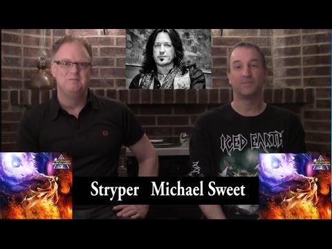Stryper 'Michael Sweet' Interview; Michael Sweet wants to produce next Van Halen album
