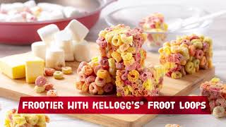Kellogg&#39s Froot Loops Rainbow Bar