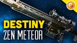 DESTINY Zen Meteor NEW Exotic Sniper Rifle Review & Gameplay (April Update Exotic)