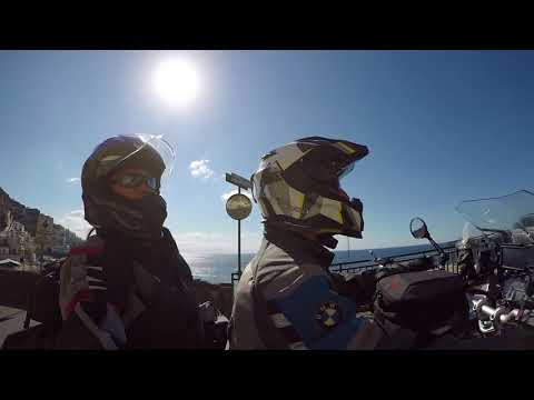 Amalfi Coast of Italy by BMW R1200GS Adventure Motorcycle - August2017