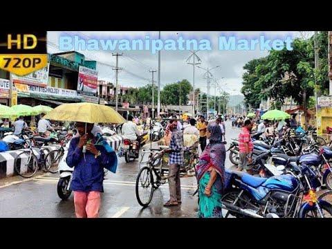 Bhawanipatna Market Area  ଭବାନୀପଟଣା ବଜାର   Morning   Short Film