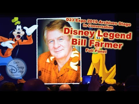 D23 Expo Archives Stage: A Conversation with Bill Farmer