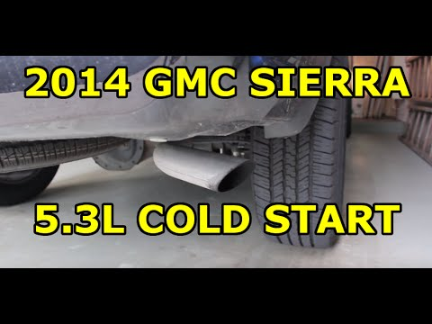 2014 GMC Sierra 5 3L Ecotec3 V8 - Cold Startup Noise (It's the Oil Pump)