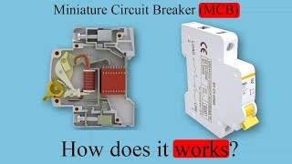 Miniature Circuit Breaker, (MCB), How does it work?